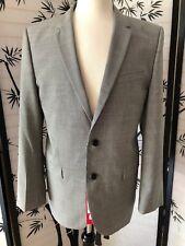 NWT $795 Hugo Boss Red Label Men's Aeron 2 / Hamen 2 Wool 2PC Suit Grey Sz 42L