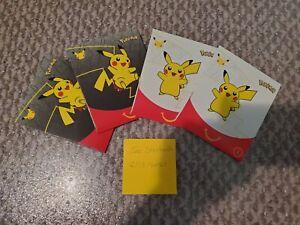 SEALED x2 2021 Pokemon Card McDonalds Happy Meal Pack 25th Pokemon Anniversary