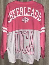 UCA Cheerleading Cheer L/S Shirt Size L Large 🏅🏅🏅Cheerleader