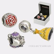 Authentic Pandora Beauty & the Beast Set w/ BOX 791575EN09 792141ENMX 791576ENMX