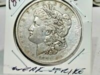 1891 O Morgan Silver Dollar WEAK STRIKE SOME ORIGINAL TONING