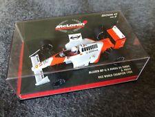 Rare 1/43 Minichamps F1 530884311 Alain Prost McLaren Honda V6 Turbo MP4/4 #6