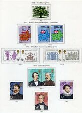More details for 1973-1991 complete set of commemorative year sets mostly fine used
