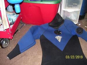 O'Neill Blue/Black Neoprene Rubber Unisex size medium  Drysuit