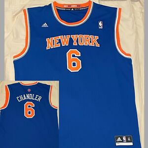 TYSON CHANDLER #6 New York Knicks ADIDAS NBA Authentics Jersey 2012 SIZE XL NWOT