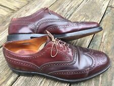 RARE Shell Cordovan Florsheim Imperial 32301 Vintage Shortwing Wingtip Size 12 C