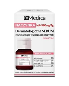 Bielenda Dr Medica Capillaries Dermatological Serum Reducing Skin Redness 30ml