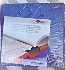 NEW CREATIVE MEMORIES Dark Blue 7 X 7 ALBUM + PAGES