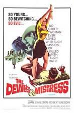 THE DEVIL'S MISTRESS Movie POSTER 27x40