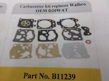 WALBRO Carburettor Repair Kit D20WAT B11239 Power Parts