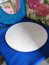 More details for 2x serax round solid terrazzo tray, round 40cm platter great for cheese boards
