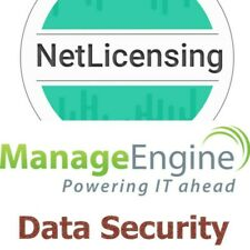 ManageEngine Data Security License, Permanent/Unlimited/Professional Edition