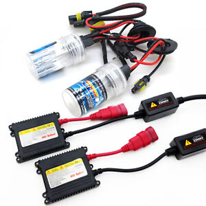 G4 AUTOMOTIVE 9005 HB3 HID Kit 35W Digital Slim Ballast Headlight DRL All Color