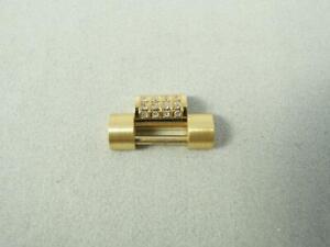 Custom 18K Gold Watch Link 16mm Rolex Men's President Diamond Set DayDate 18238