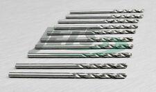 2.25mm TWIST DRILL METRIC HSS JOBBER DRILLS 10 PIECES BRIGHT STEEL MM BITS M2