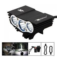 12000Lm Solarstorm 3 x CREE XM-L U2 LED 4 Modes Bicycle Light Headlamp + Battery