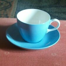 WEDGWOOD OF ETRURIA TEA CUP AND SAUCER - SUMMER SKY PATTERN - 1950's / 1960's