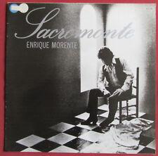 ENRIQUE MORENTE  LP ORIG  FR  SACRAMONTE