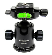 Pro Panoramic Head Tripod Ballhead with Quick Release Plate For Camera Tripod