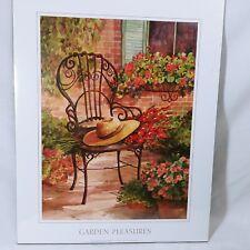 Art Print by Vangge 20 X 16 Scarfa Art 2003 Garden Pleasures Unframed