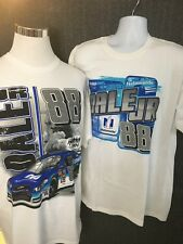 Dale Earnhart Jr. Men's XL NWOT Chase Authehtic NASCAR Graphic T-shirt Lot of 2