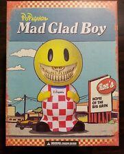 """Ron English x MINDstyle Popaganda Mad Glad Boy 8"""" Sofubi Grin Figure Big Boy"""