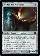 MOLTEN-TAIL MASTICORE Scars of Mirrodin MTG Artifact Creature — Masticore MYTHIC