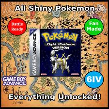 Unlocked Pokemon Light Platinum | All Shiny Pokemon | Fan-Made | GBA DS