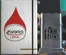 Sehr Selten Zippo Barcroft No. 4 FACT Cigarettes 2 Side 1970´s MIB RAR !