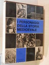 I PERSONAGGI DELLA STORIA MEDIOEVALE Marzorati 1993 saggistica libro medievale