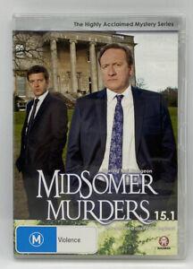 Midsomer Murders Season 15.1 - British Detective Drama Series DVD - Like New