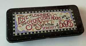 Mary Engelbreit Michel 1998 Tin The Love Of Learning