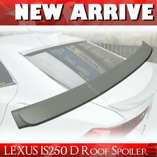 Painted For Lexus IS250 IS350 IS F D-Type ABS Rear Roof Spoiler Wing§
