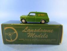 """LANSDOWNE MODELS LD.4 1962 MORRIS MINI VAN MK.I """"LANSDOWNE LIVERY"""", MIB!"""