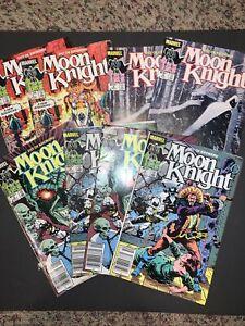 MOON KNIGHT Fist Of Khonshu #1 1 3 E 4 4 6 6 Newsstand Marvel Lot