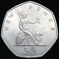 1969 | Elizabeth II 50p | Cupro-Nickel | Coins | KM Coins