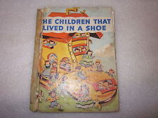 1942 The Children That Lived in A Shoe book by Josephine van Dolzen Pease