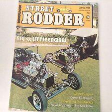 Street Rodder Magazine Big Vs Little Engines Wheel Report June 1974 060517nonrh