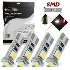 4x Error Free  Angel Eyes LED Lights Bulbs For BMW 525i 530i 550i E60 Pre-LCI