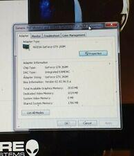 Aleinware m15x Graphics Card (GTX 260m 1GB)