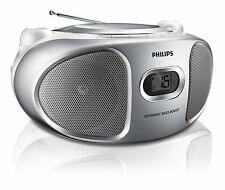 Philips Az105s 05 Portable CD Player With FM Tuner and Line-in for Mp3 Playback