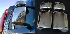 Scania L/P/G/R Streamline Super Mirror Polished Covers Stainless Steel Set 4 pcs