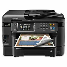 Epson WorkForce 3640 Wireless All-in-One Inkjet Printer Copy/Fax/Print/Scan