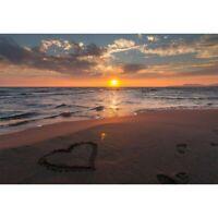 5D Full Drill Diamond Painting Beach Sunset Cross Stitch Kits Arts Decor Gifts