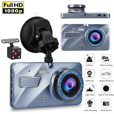 4'' KFZ Autokamera Full HD 1080P DVR Dashcam Video Recorder Dual Lens Vehicle