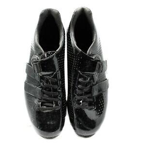 Giro Factor Techlace Carbon Road Cycling Shoes, Black, Size 43 EU / 9.5 US EUC