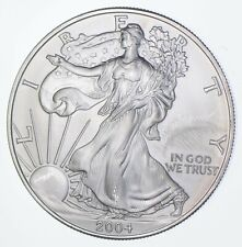 Better Date 2004 American Silver Eagle 1 Troy Oz .999 Fine Silver *492