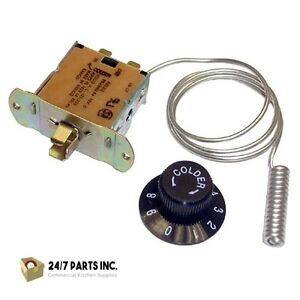 True  Parts - 800312 - Coil Sensing Freezer Thermostat  SAME DAY SHIPPING