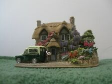 """Lilliput Lane Collectible Cottages L2942 """"Wisteria Lane"""" Mib with deed."""