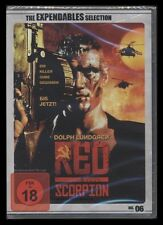 DVD RED SCORPION - THE EXPENDABLES SELECTION - UNRATED VERSION FSK 18 UNCUT *NEU